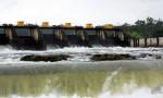 Dam Flood Waters